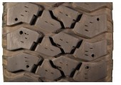 245/75/16 Goodyear Workhouse 95% left